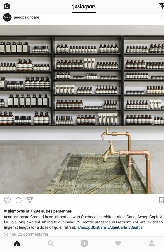 Aesop seattle