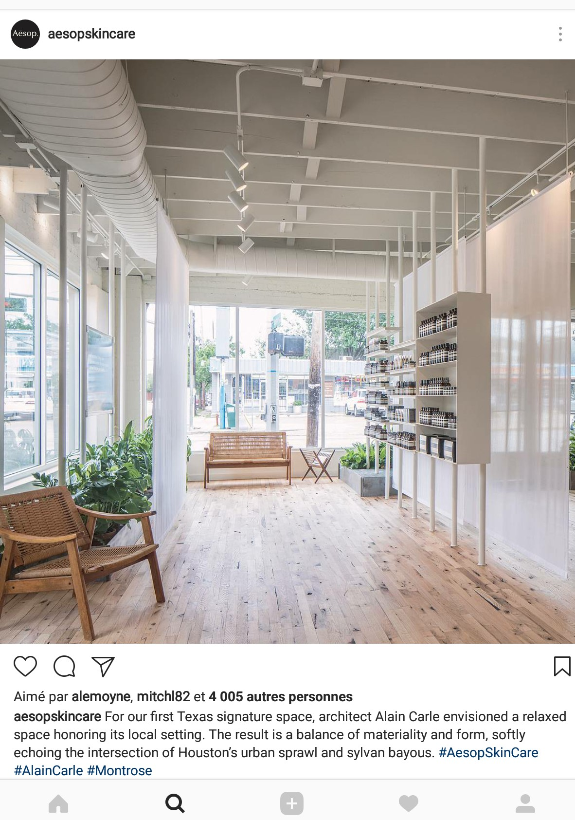 Aesop dallas